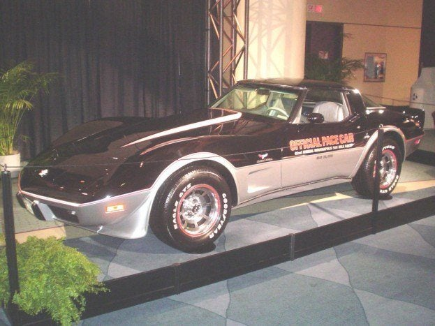 2009 auto show 1978 corvette pace car chris nagy