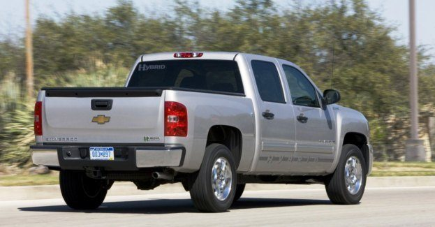 2010 Chevy Silverado Hybrid rear