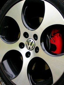 2010 VW GTI wheels