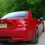 2010 BMW M3 rear