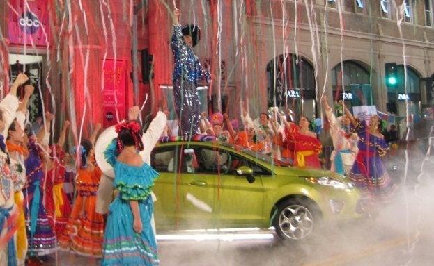 Jimmy Kimmel Live Ford Fiesta
