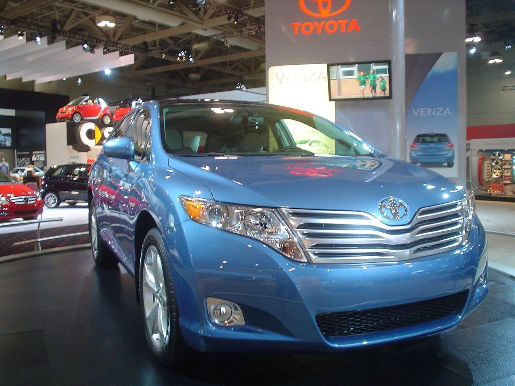 Toyota Camry blue
