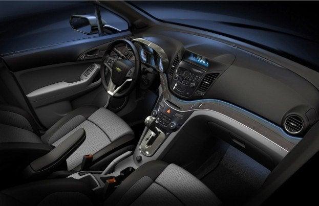 Chevrolet Orlando Show Car interior
