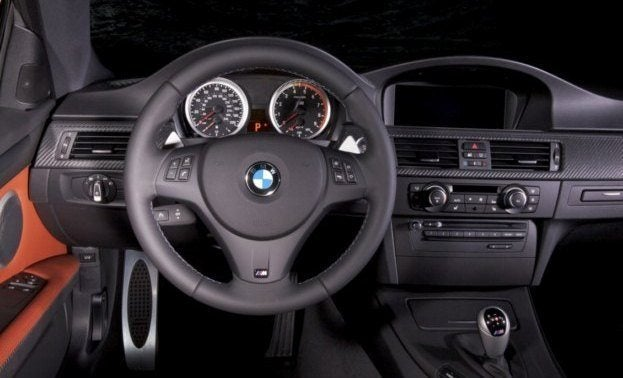 2011 BMW Frozen Gray M3 Coupe interior