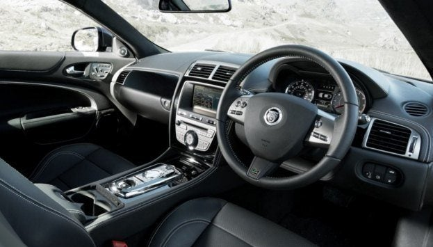 Jaguar XKR 75 interior