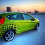 Ford Fiesta graphics
