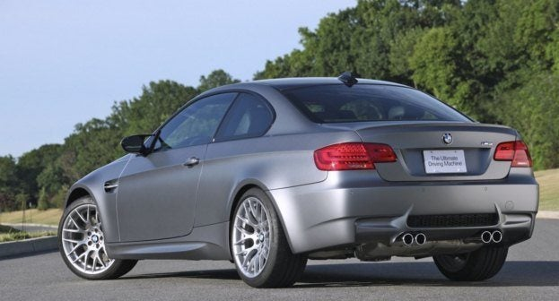 2011 BMW Frozen Gray M3
