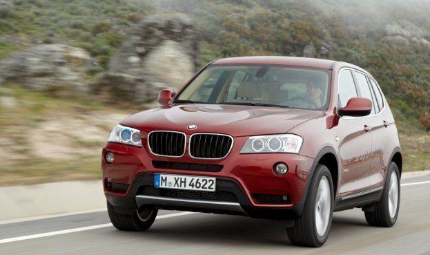 2011 BMW X3 4