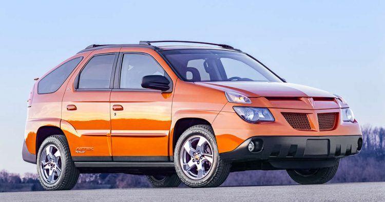 Pontiac Aztek orange