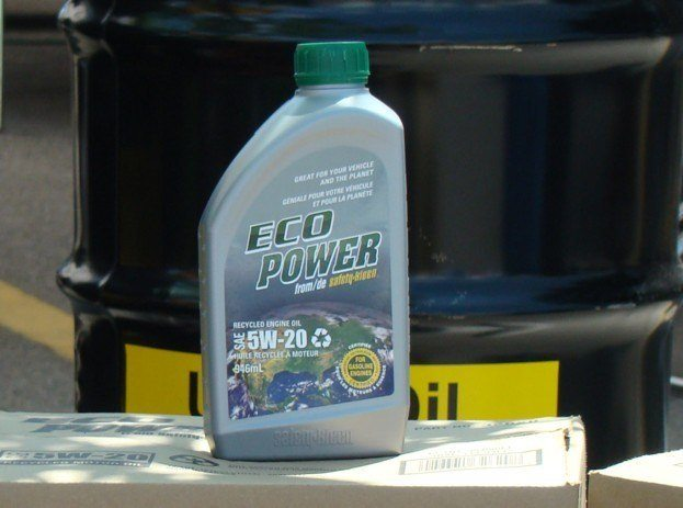 Waste Not With Ecopower Recycled Motor Oil