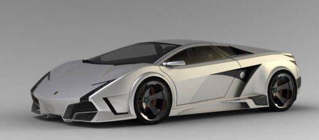 Lamborghini Concept Ev A Novel Approach To An Electric