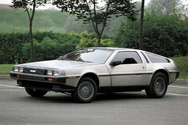 25 Years After Going Back To The Future The Delorean Dmc 12