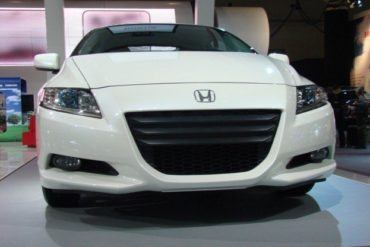 Honda CR-Z front