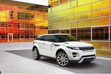land rover evoque front side