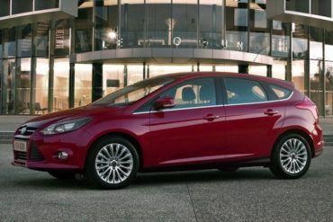 2012 Ford Focus Hatchback FrontSideView
