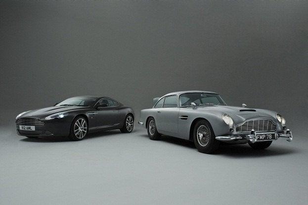 James Bond S Aston Martin Db5 Charms Up Over 4 600 000