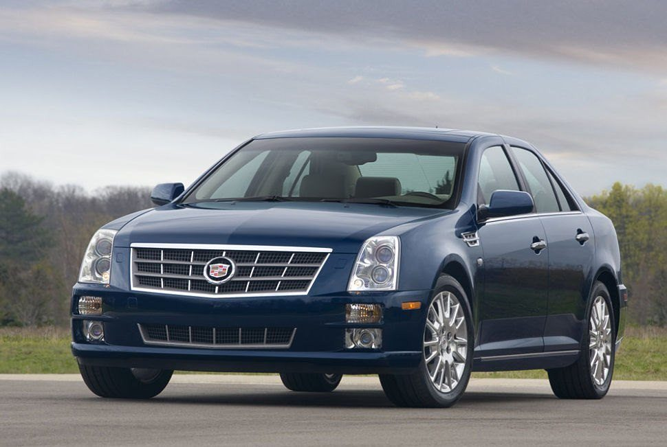 Cadillac STS Front View