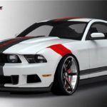 Specialty Mustang by Raceskinz