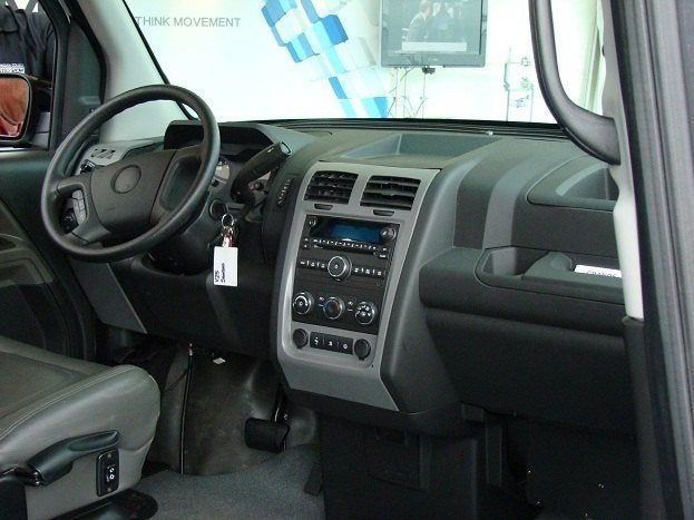 Vpg mv 1 super wheels for those with wheels - Commercial van interiors locations ...