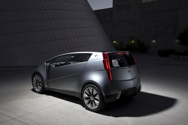 Small Car Big Charmer The Cadillac Utility Luxury Concept