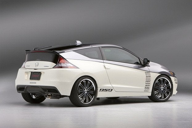 Sending 12 Customized Honda Cr Z