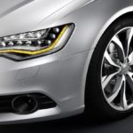 2012AudiA6HeadlightDetail