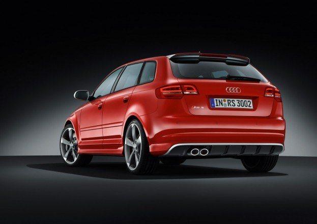 Audi RS3 Rear Angle