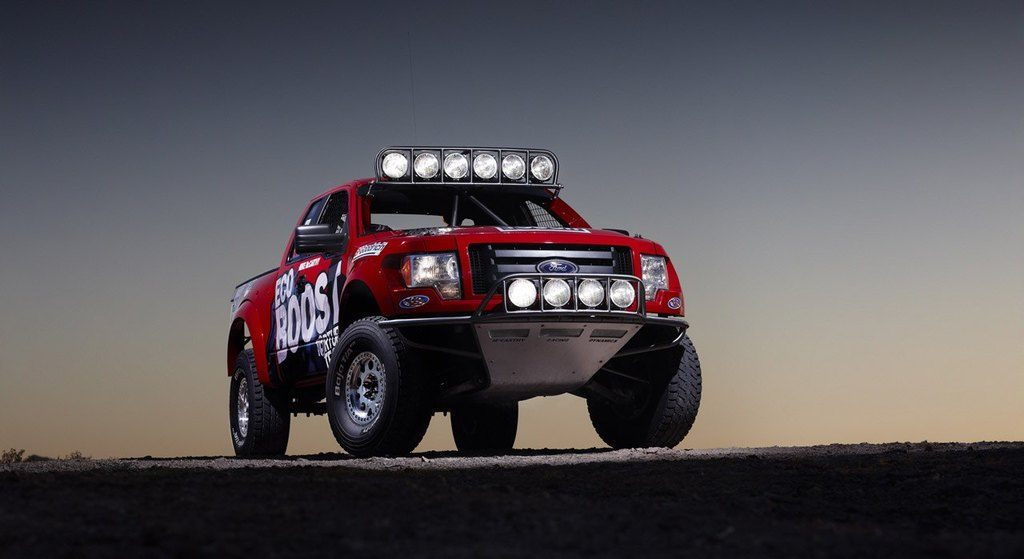 Baja 1000 Ford F-150 EcoBoost Front View