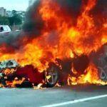 Another Ferrari 458 Italia Bursts into Flames
