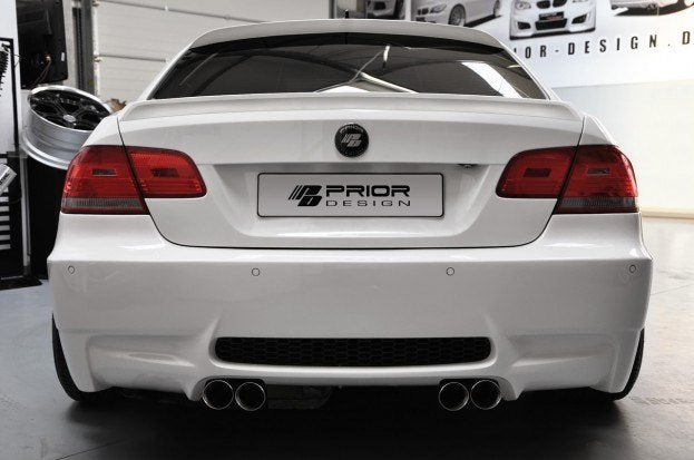 PD bmw E92 widebody rear view