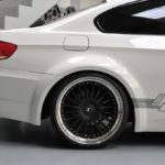 PD bmw E92 widebody side view detailed