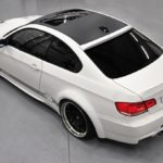 PD bmw E92 widebody top rear view 1