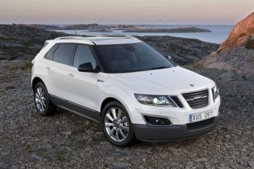 Saab 9-4X Front View