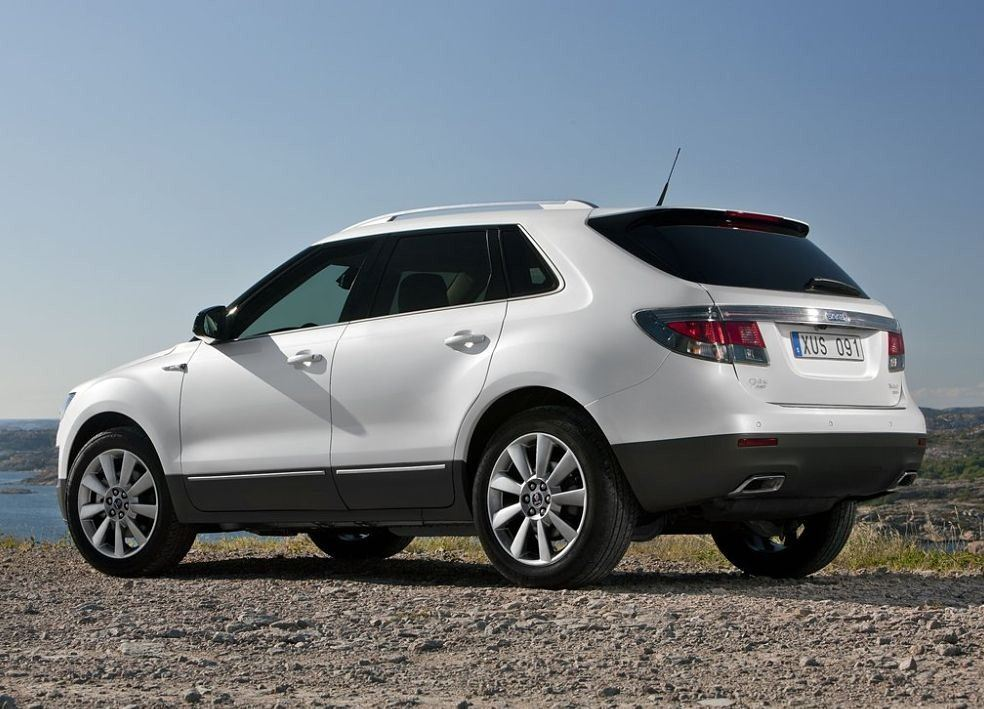Saab 9-4X Rear View