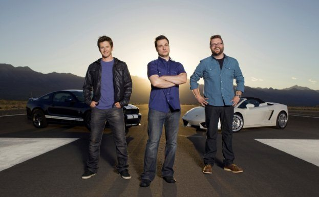 Top Gear America hosts
