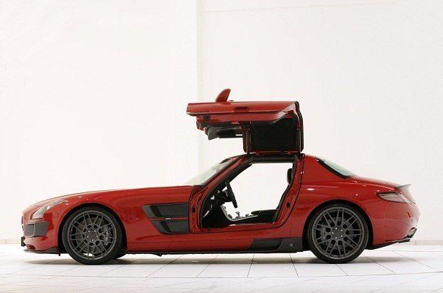 Mercedes SLS AMG Brabus Widebody