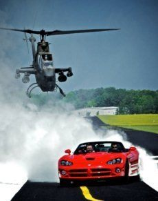 Viper Cobra chase Top Gear America