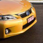 2011 Lexus CT 200h nose