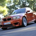 BMW1 SeriesMFrontViewInMotion2