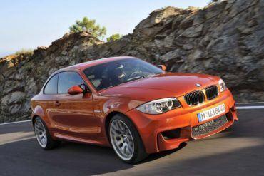 BMW1 SeriesMFrontViewMotion