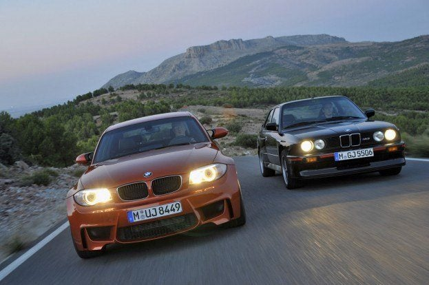 BMW1 SeriesMandM3InMotion