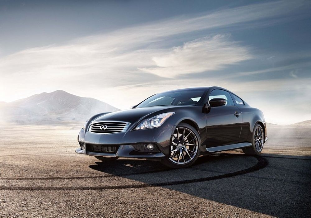 Infiniti IPLG Coupe Front View