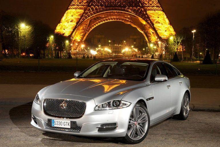Jaguar XJ Front View