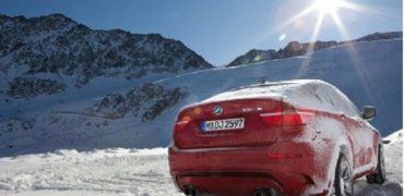BMW X6 winter