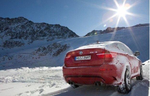 BMW X6 winter