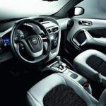 Aston Martin Cygnet interior
