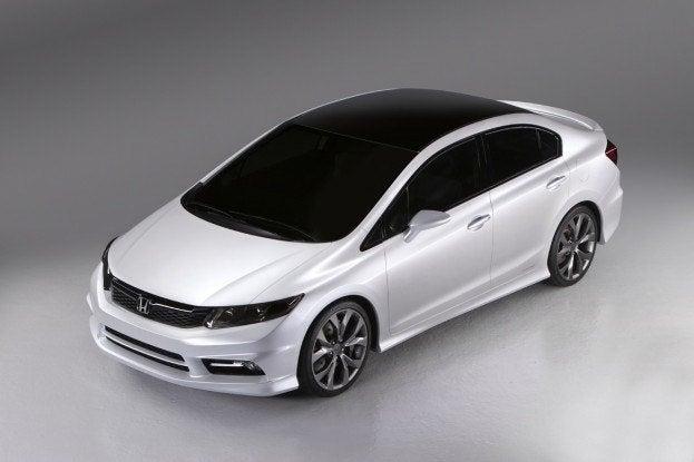 Honda Previews Civic - All honda model cars