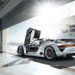 Porsche918RSRRearDoorOpen
