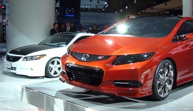 2011 Canadian International Auto Show honda display