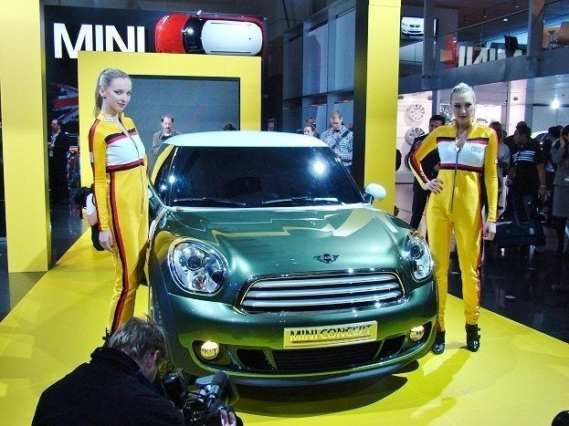 2011 Canadian International Auto Show mini paceman